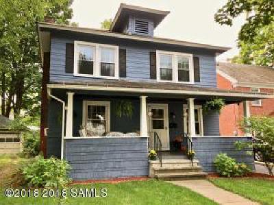 Glens Falls Single Family Home For Sale: 44 Sherman Avenue