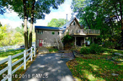 Albany County, Saratoga County, Schenectady County, Warren County, Washington County Single Family Home For Sale: 135 Canal-Road Road