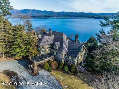 Fulton County, Hamilton County, Montgomery County, Saratoga County, Warren County Single Family Home For Sale: 3232 Lake Shore Drive