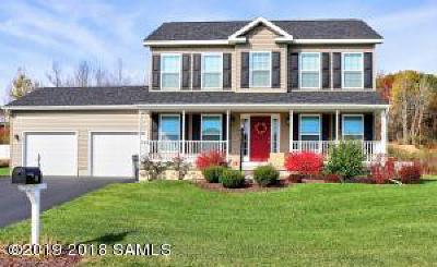 Mechanicville, Stillwater Single Family Home For Sale: 31 McCrea-Road Road