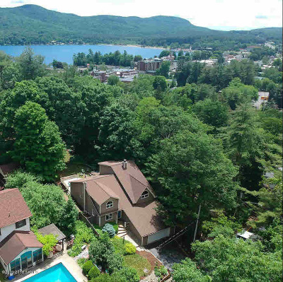 Lake George Single Family Home For Sale: 55 Holly Dr