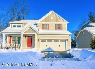 Saratoga Springs Single Family Home For Sale: 8 Maria Lane