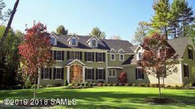 Saratoga Springs NY Single Family Home For Sale: $1,170,000