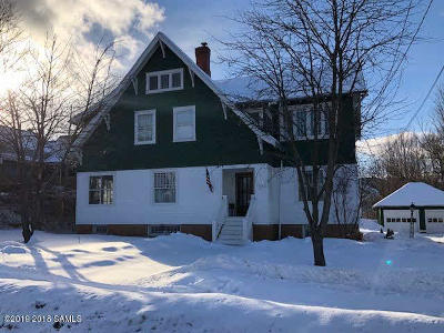 Ticonderoga Single Family Home For Sale: 115 Lake George Avenue