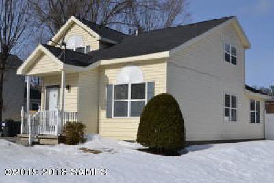 Albany County, Saratoga County, Schenectady County, Warren County, Washington County Single Family Home For Sale: 26 Franklin-Street Street