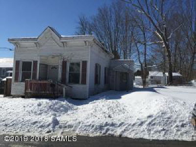 Albany County, Saratoga County, Schenectady County, Warren County, Washington County Single Family Home For Sale: 3 King-Street Street