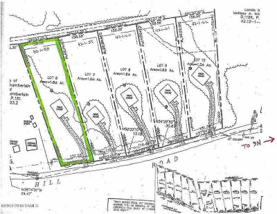 Residential Lots & Land For Sale: Dodd Hill Rd
