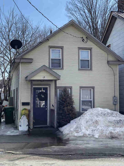 Fort Edward Single Family Home For Sale: 12 Notre Dame Street