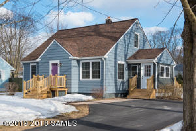 Saratoga County Single Family Home For Sale: 2 Dorrer-Avenue Avenue