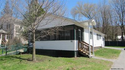 Lake Luzerne Single Family Home For Sale: 92 Bay Rd