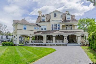 Saratoga Springs NY Single Family Home For Sale: $1,595,000