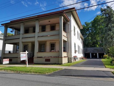 Canajoharie Multi Family Home For Sale: 87-93 Cliff St