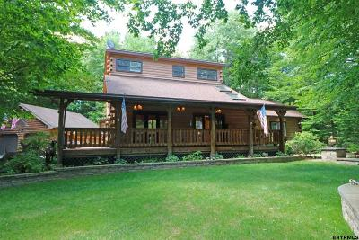 Saratoga County Single Family Home For Sale: 288 Miner Rd