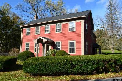 Saratoga County Single Family Home For Sale: 12 Old Stage Rd