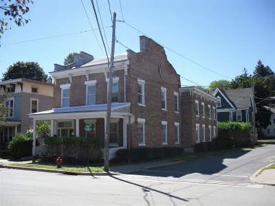 Fort Plain Multi Family Home For Sale: 181 Canal St