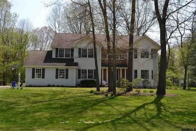 Saratoga County Single Family Home For Sale: 7 Sweetbriar Dr