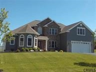 Saratoga County, Albany County Single Family Home For Sale: 7 Hillshire La