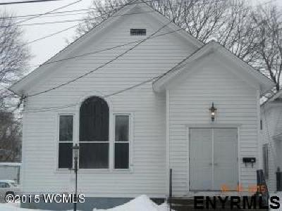 Glens Falls Single Family Home For Sale: 20 Ogden St
