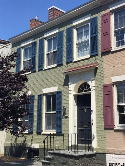 Schenectady Single Family Home For Sale: 25 Front St