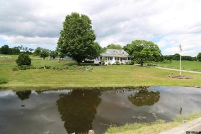 Saratoga Single Family Home Back On Market: 454 County Rt 68