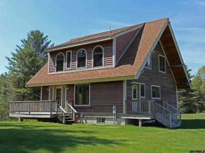 Saratoga County, Warren County Single Family Home For Sale: 1205 Harrisburg Rd