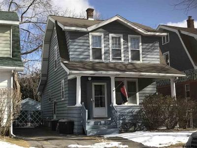 Albany NY Single Family Home Closed (Final Sale): $163,000