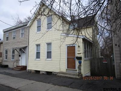 Albany NY Single Family Home For Sale: $45,000