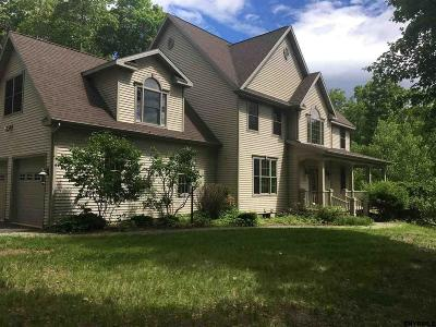 Saratoga County Single Family Home For Sale: 53 Hyspot Rd
