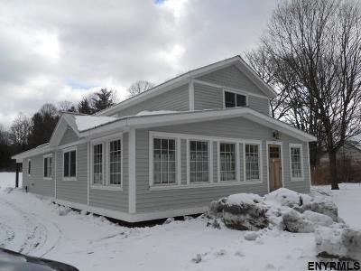 Saratoga County Single Family Home Price Change: 3115 Route 9n