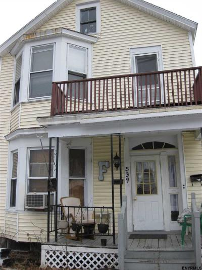 Troy NY Two Family Home Closed (Final Sale): $72,000
