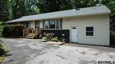 Saratoga County Single Family Home For Sale: 187 Stage Rd