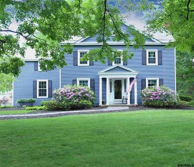 Niskayuna Single Family Home For Sale: 952 Vrooman Av
