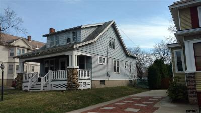 Troy NY Single Family Home Sold: $91,500