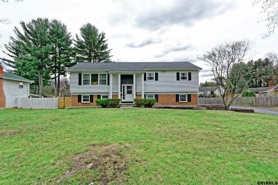 Saratoga County Single Family Home For Sale: 12 Northcrest Dr