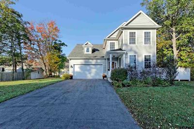 Saratoga County Single Family Home Extended: 58 Eastern Av