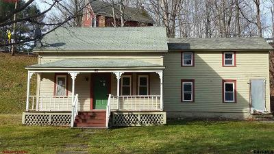 Rensselaer County Single Family Home For Sale: 82 Dayfoot Rd