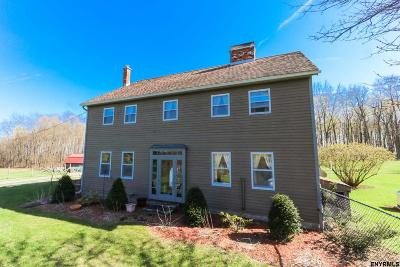 Saratoga County Single Family Home For Sale: 79 Degraff Rd