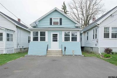 Albany NY Single Family Home Pend (Under Cntr): $157,500