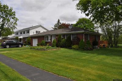 Watervliet Single Family Home For Sale: 1620 12th Av