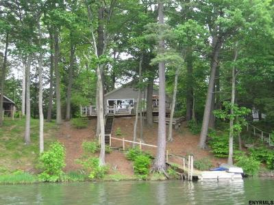 Copake Single Family Home For Sale: 61 Island Dr