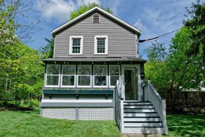 Saratoga Springs Single Family Home For Sale: 247 Maple Av