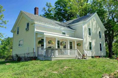 Saratoga County Single Family Home For Sale: 657 Sweetman Rd