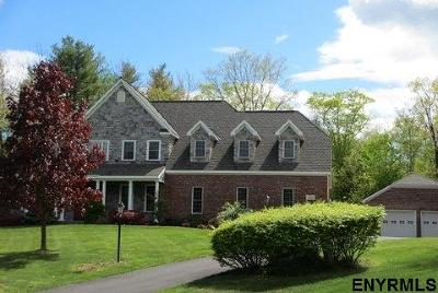 Clifton Park Single Family Home For Sale: 4 Cheshire Ridge