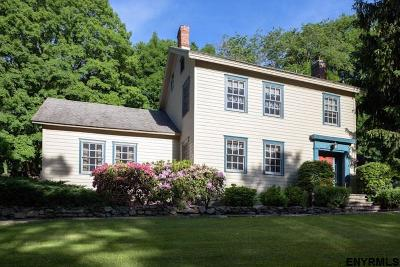 Chatham Single Family Home Price Change: 1417 Albany Turnpike