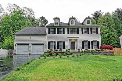 Clifton Park Single Family Home For Sale: 9 Jamison Dr