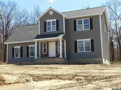 North Greenbush Single Family Home For Sale: 4 Lot 2 Lochvue Dr
