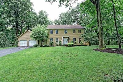 Clifton Park Single Family Home For Sale: 5 Stratford Ct
