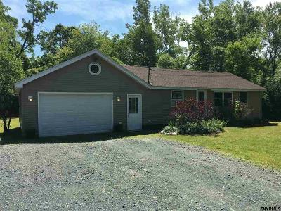 North Greenbush Single Family Home For Sale: 298 Peck Rd