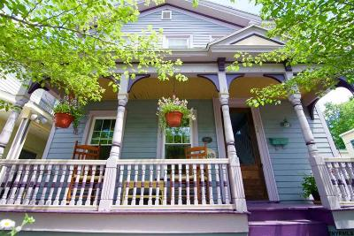 Saratoga Springs Single Family Home For Sale: 56 Henry St