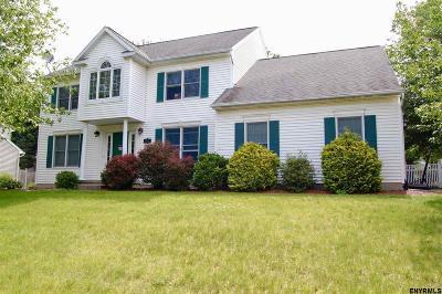 East Greenbush Single Family Home For Sale: 123 Springhurst Dr